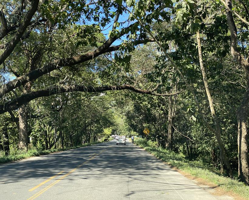 asfaltwegen in Costa Rica